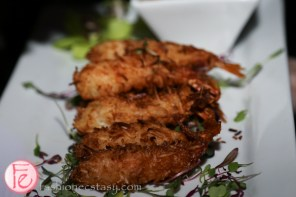 coconut shrimp by Eatertainment catering