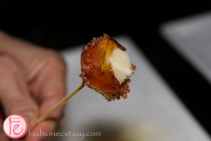 Sasseh! maple syrup wrapped cheese