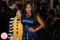 Tanya Hsu & Patricia Jaggernauth media profile party 2015