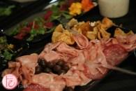 paint cabin toronto salami plate