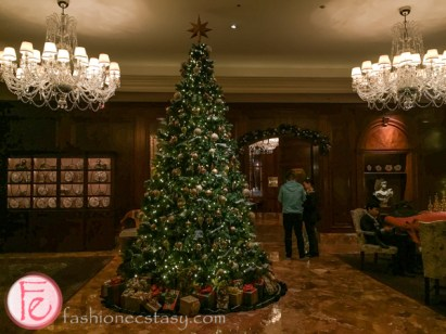 ritz carlton hotel osaka christmas tree