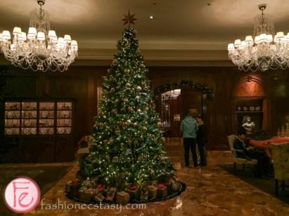 ritz carlton hotel osaka christmas tree