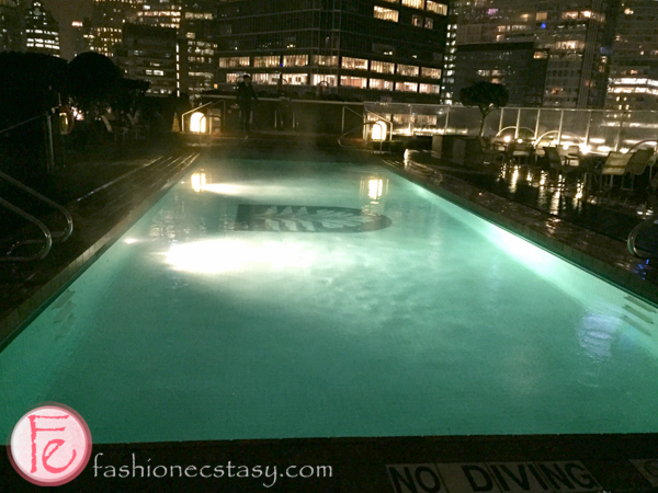 Pan Pacific Vancouver heated pool
