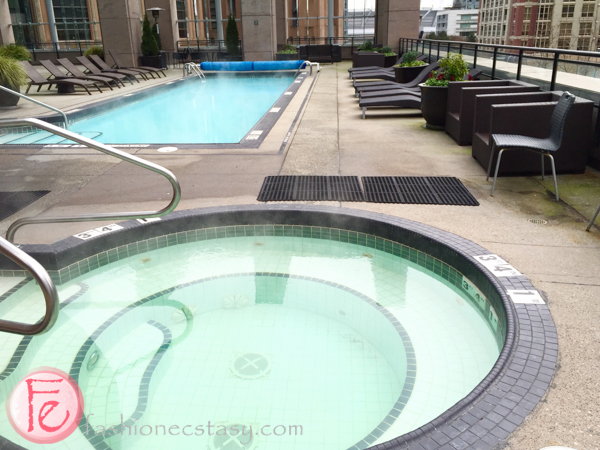The Westin Grand, Vancouver heated pool and hot tub