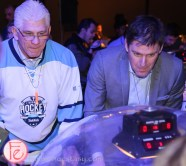 rick vaive bubble hockey night for sickkids