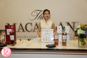 macallan whisky station