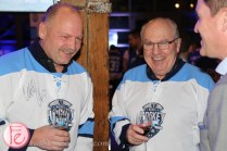 Wendel Clark and Ron Ellis sickkids bubble hockey night 2016