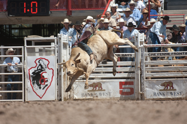 Cheyenne Frontier Days rodeo event