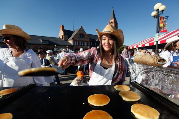 Cheyenne Frontier Days pancake breakfast