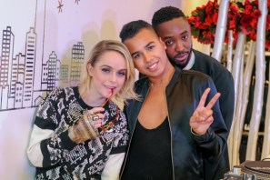 Taryn Manning, Jay Strut H&M eaton centre opening party