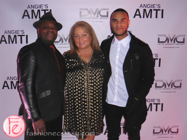 Lou Seymour, Angie Sakla-Seymour and Dimities Seymour anti model agency