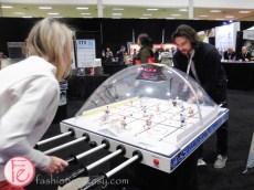 bubble hockey at restaurants canada show 2016