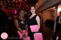 black & white with a touch of pink gala 2016