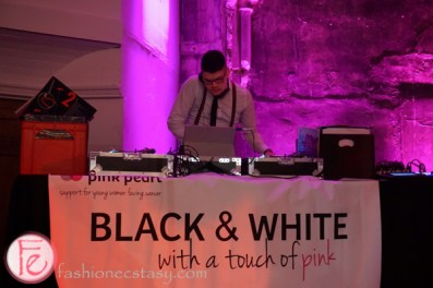 black and white with a touch of pink gala pink pearl foundation