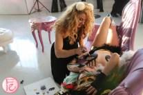 JessGo live body painting