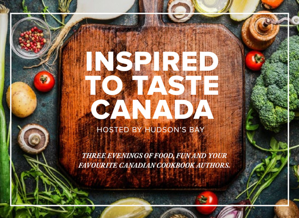 inspired to taste canada event