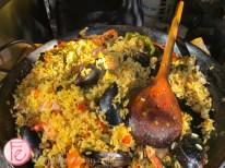 La Fiesta's paella