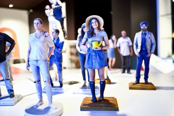 TPH The Printing House 3D printed selfie figurines