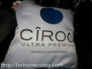 CÎROC Vodka the addison residence patio party