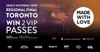 made with love VIP tickets TORONTO giveaway CONTEST