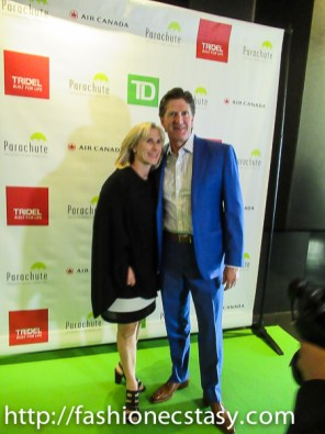 Michael Babcock Parachute Gala Toronto 2017