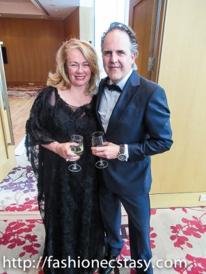 Arlene Dickinson at 2017 Versailles Gala Opera Atelier