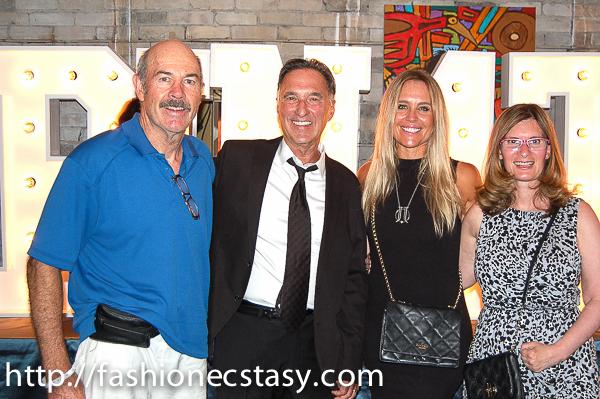 MIke Hazell, Howard Rocket, Jana Webb, Lara Kaufman Rocket Ride For Toronto Rehab #Spin4the6 launch