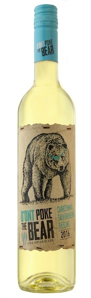 D'Ont Poke the Bear white wine vqa