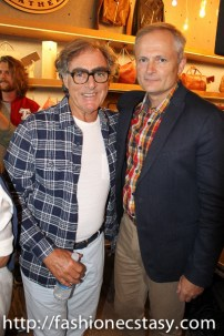 Michael Budman (Roots co-founder) & Jim Gabel (Roots President and CEO)