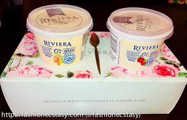 MAISON RIVIERA launches New Greek yogurt with 40 percent less sugar