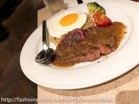 肋眼牛排蓋飯 ribeye steak on rice The Chapter Cafe Eslite Hotel Taipei