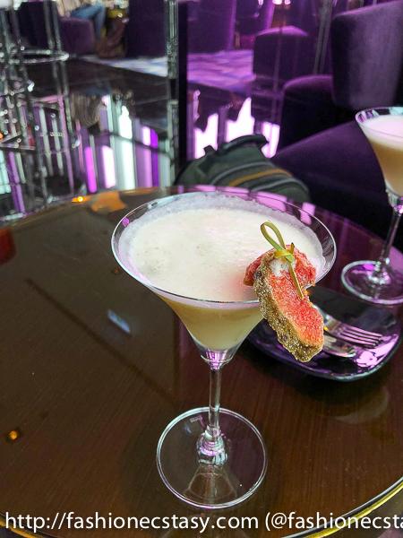 W Hotel Yen Bar Afternoon Tea Sunlight cocktail