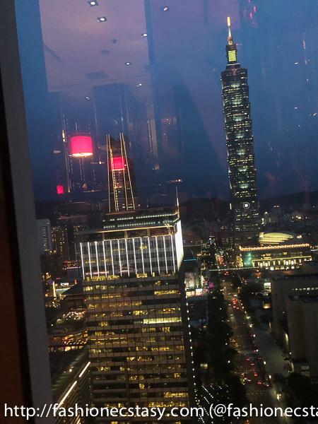 W Hotel 台北101夜景
