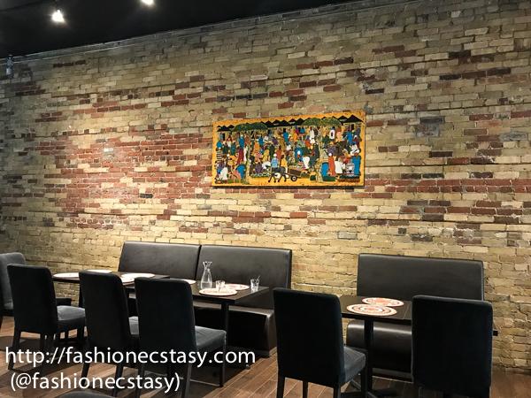 Kiza Toronto African Restaurant Tasting review