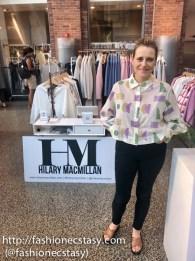 Sarah Power founder of INLAND pop up shop