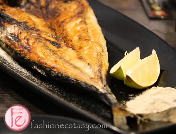 烤鯖魚 (Grilled mackerel)