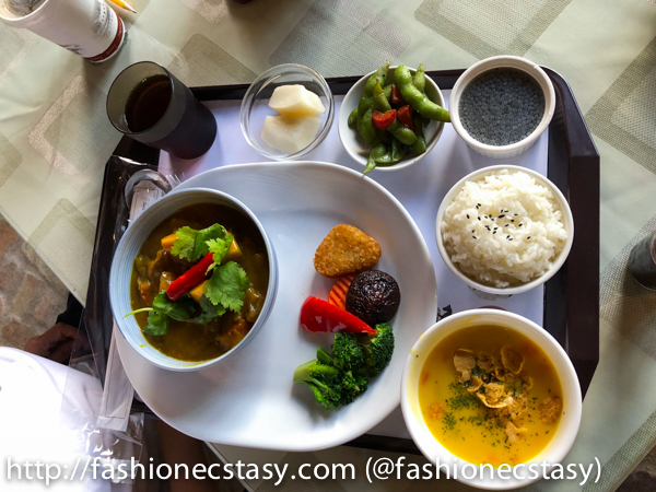 台中新社酒莊餐廳咖哩套餐(beef curry set at Xinshe Castle Wine chateau Restaurant)