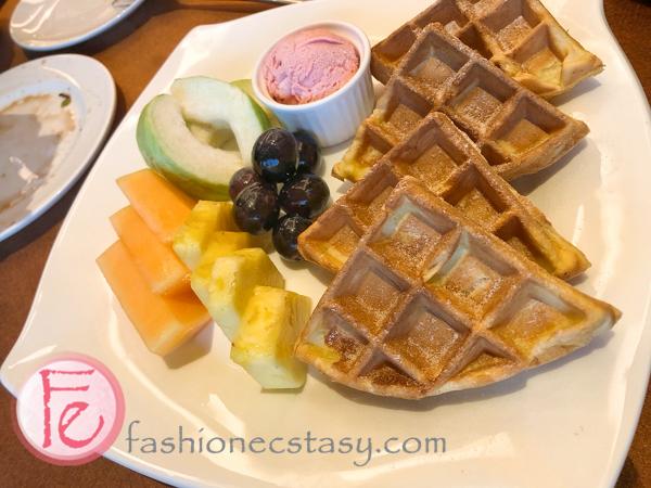 神旺商務酒店下午茶鬆餅 (afternoon tea waffles at San Want Hotel Taipei Residences