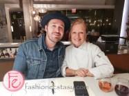 Dennis Prescott with Donna Dooher