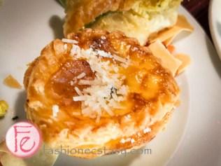 培根蘑菇鹹塔 (bacon and mushroom pie)