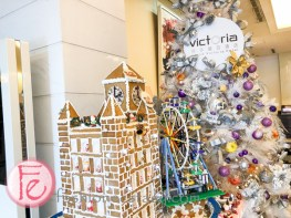 維多麗亞飯店聖誕社&薑餅屋 ( Grand Victoria Hotel Christmas tree & ginger bread house)