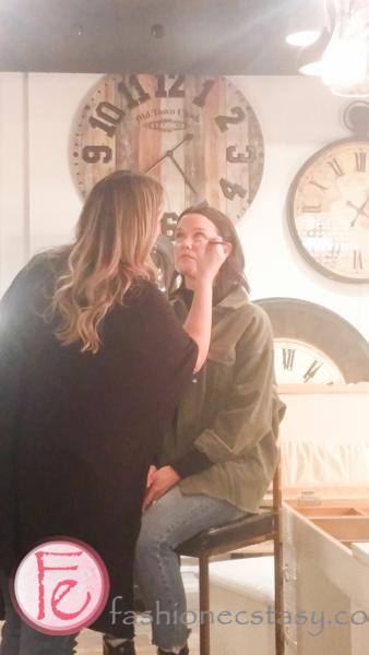 Tara Leydon makeup demo & tutorial