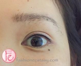 Twiggy 二訪繡眼線後 (左眼) Twiggy second eyeliner tatto session- After (left eye)