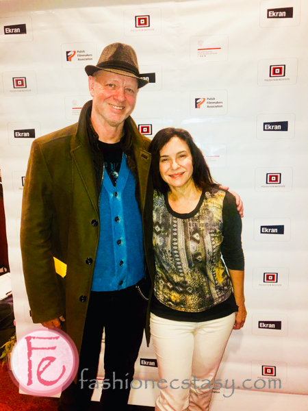 Aidan Devine at Toronto Polish Film Festival