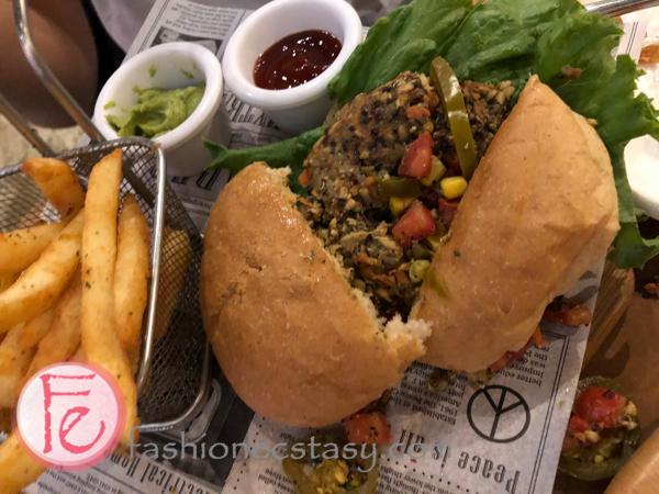 URBN Culture純素手工漢堡 (URBN Culture Vegan Homemade Burger)