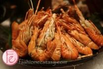 小龍蝦 (lobsters) 文華CAFE海鮮自助吧 ( Cafe Un Deux Trois seafood bar)