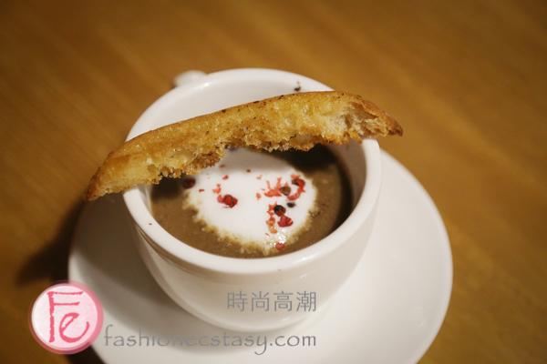 蘑菇濃湯卡布奇諾 (Mushroom Soup Cappuccino)