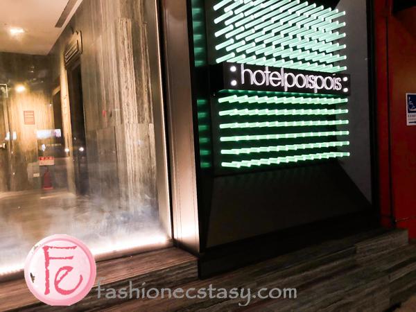 台北泡泡旅館住宿經驗 Hotel Poispois Taipei