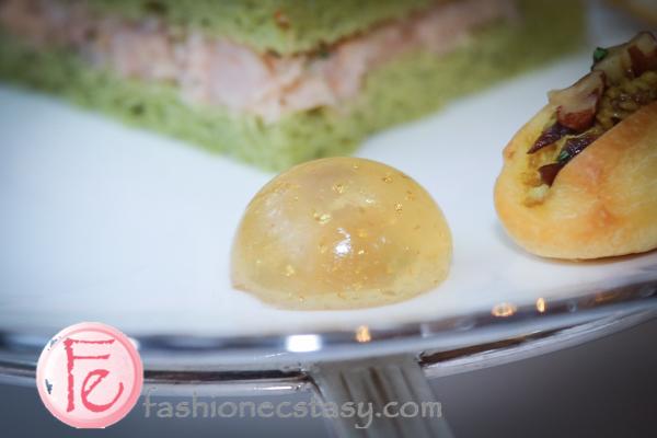 台北文華東方鯖青隅: 鵝肝凍 (Foie Gras Jelly)