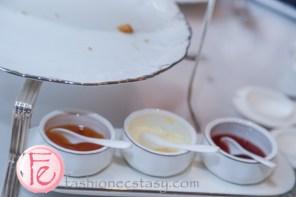 台北文華東方鯖青隅: 英式司康果醬&奶油 (English Scones homemade jam & cream)